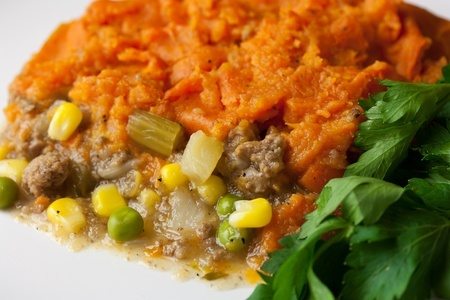 Sweet Potato Beef Shepherd's Pie GF