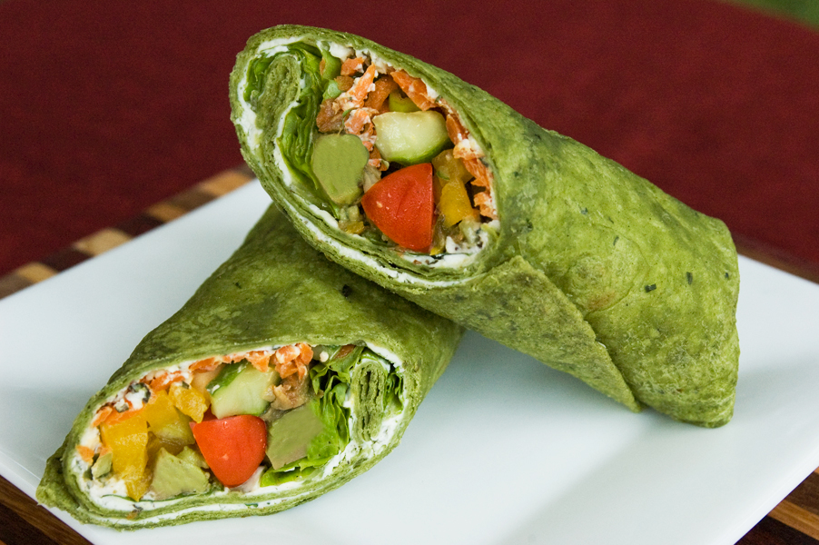 Chef's Veggie Wrap